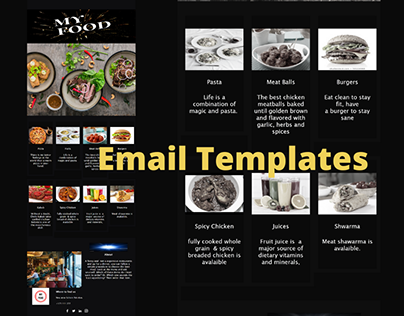Editable email Templates
