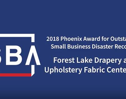 Lake Forest Fabrics - SBA - Phoenix Award