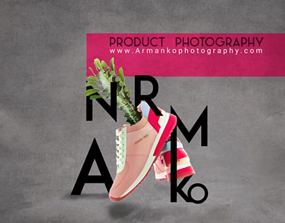 Product Photography Ad, Motion Graphics