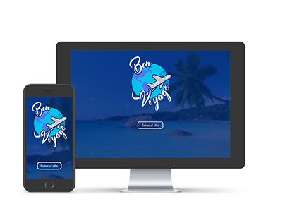 Bon Voyage - Blog de viajes Site Concept