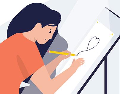 Illustration - love illustrating