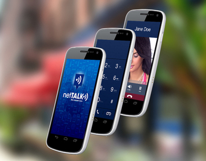 netTALK Smartphone App (Android)