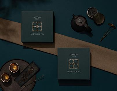 Chinese Tea Gallery Rebranding & Packaging 華茶館