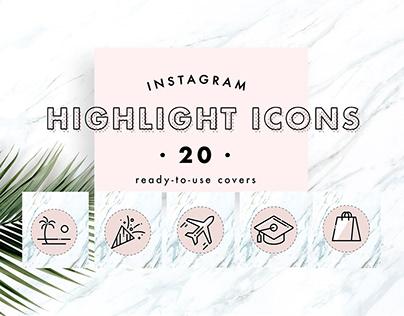 Instagram Highlight Icons