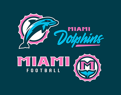 Miami Dolphins | Rebranding Concept