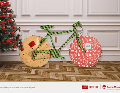 """Banco Municipal """"Compartí la navidad, no los gastos"""""""