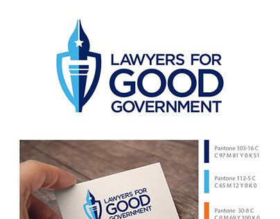 Lawyers For Good Government Branding