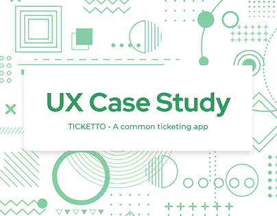 Ticket Booking App | UX Case Study