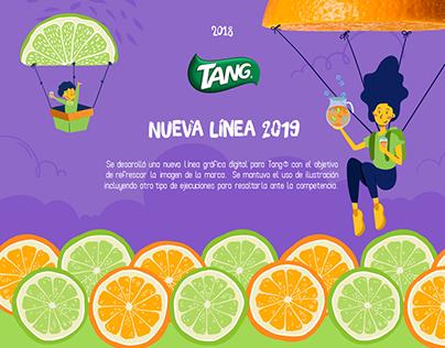 Línea gráfica Tang® 2019