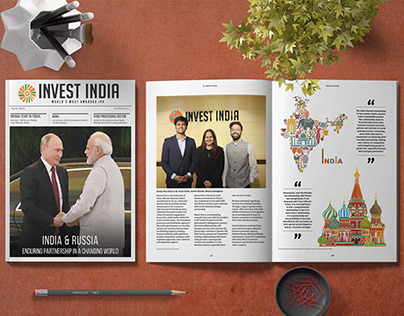 Magazine Design 2018-19   Invest India