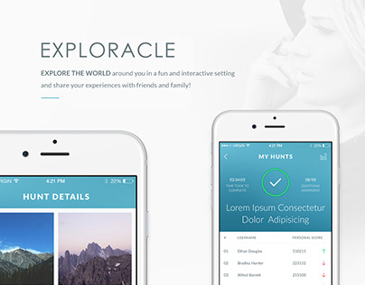 Exploracle Mobile App