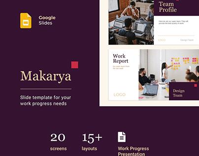 Makarya - Google Slide Template