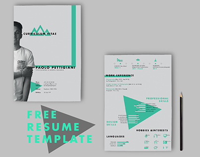 self promotion free cv on behance