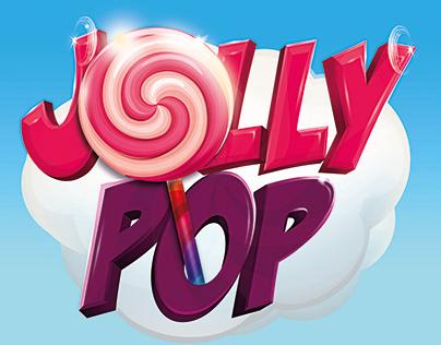 Jolly pop and Jolly Kids logo design