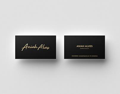 Aniah Alves Business Card