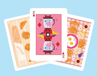 Breakfast Cards   Illustration
