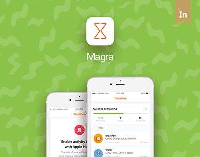 Magra - Calorie Counter, Pedometer and Social Fitness C