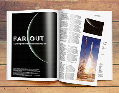 Editorial design - Looking Up