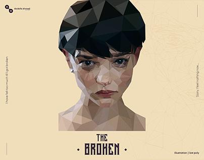 The Broken | Low Poly Portrait