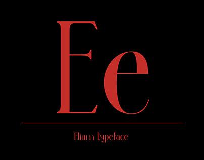 Eliam © | REGULAR TYPEFACE