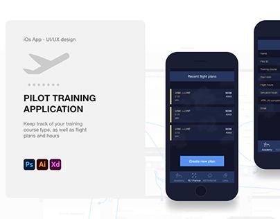 Pilot Training app - UI/UX