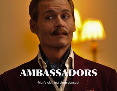 Ambassadors | Men's clothing store concept
