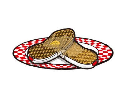 Waffle soles