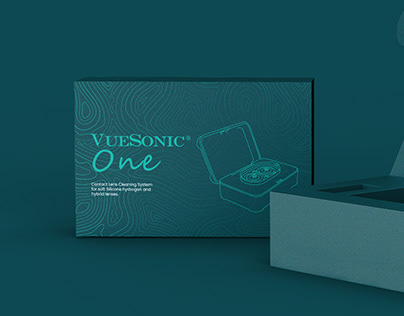 VUESONIC ONE - Box packaging design