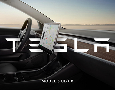 Tesla Model 3 | User Interface