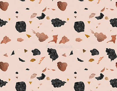 Retro Terrazzo pattern