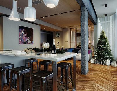 Christmas Interior Decor