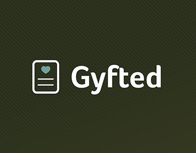 Gyfted.it app/web design