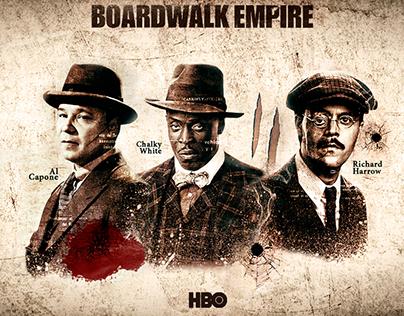 Serie Boardwalk Empire Fan art