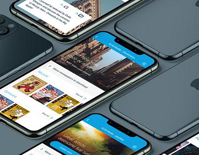 KLM - media app