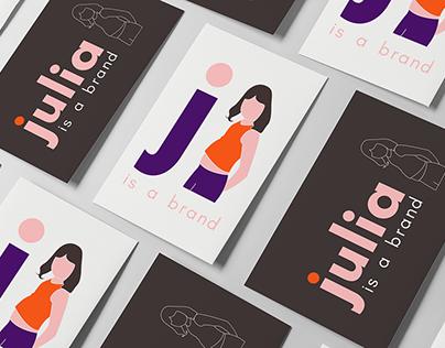 julia is a brand | Marca Pessoal | Personal Brand