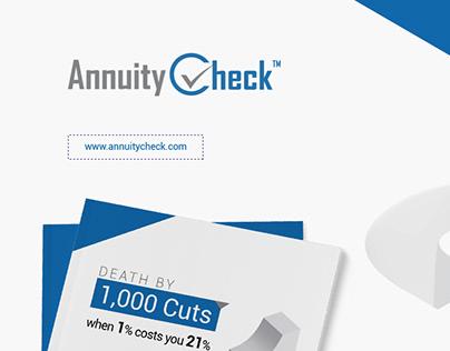 Annuity Check Brochure