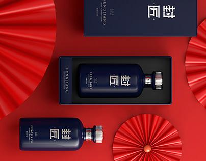 FengJiang Liquor packaging design