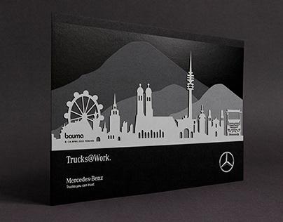 bauma VIP-Kundenabend von Mercedes-Benz Trucks