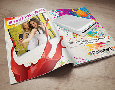 Polaroid ZIP Printer Advertisements