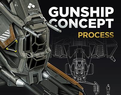 Gunship Concept - Process