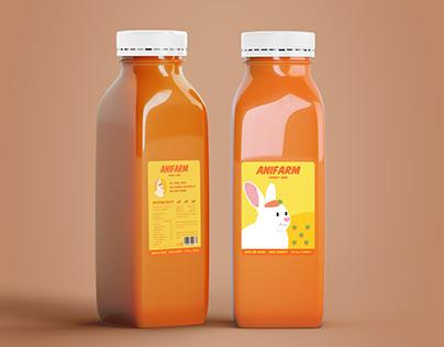 Anifarm juice Package design