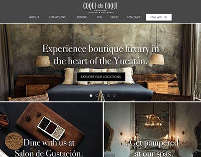 Coqui Coqui Booking Site
