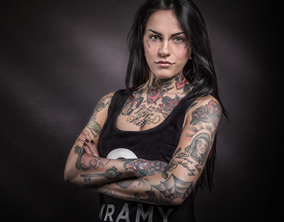Tattoo Artists Portraits for Quramy Campaign