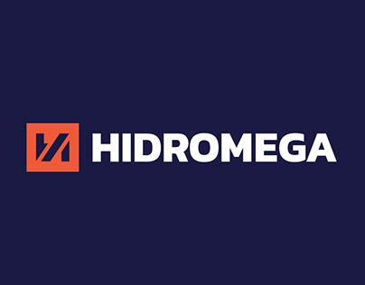 HIDROMEGA LOGO & VISUAL IDENTITY REDESIGN