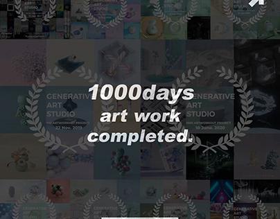 1000DAYS ARTWORK