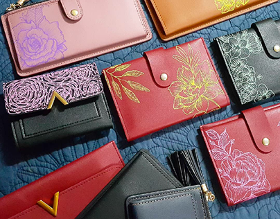 Passion Project - Customized Leather Wallets