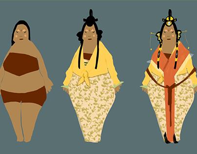Tang Dynasty Character Concepts