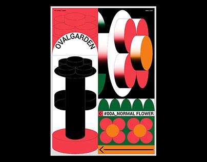 Oval Garden / 橢圓花園 / Graphics & Visual Identity