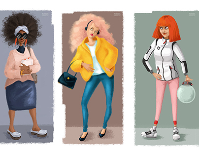 The Girls - Illustration Project