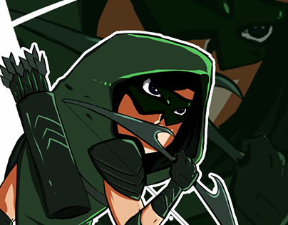 Green Arrow (fan art)